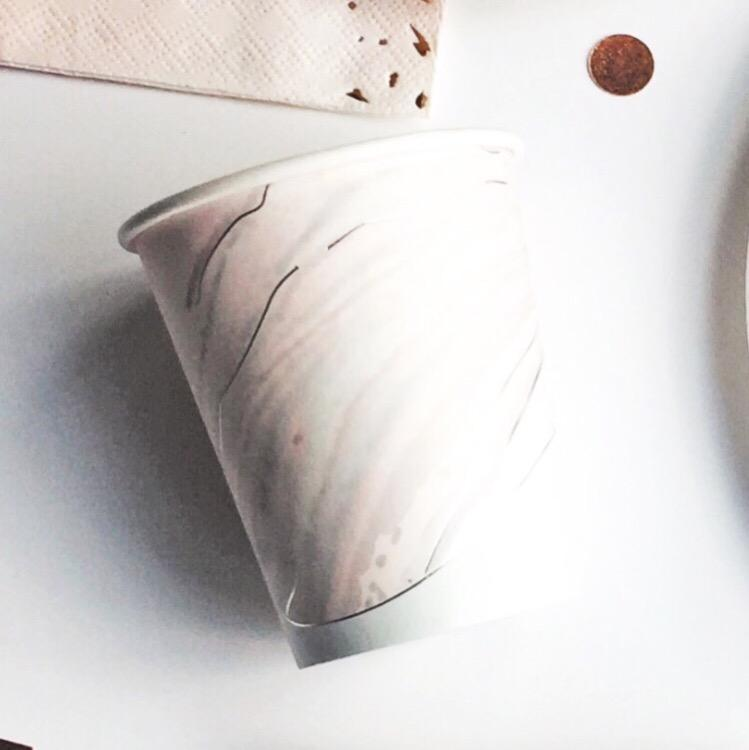 CUPS - PASTEL MARBLE, CUPS, PRIM + PARTY - Bon + Co. Party Studio