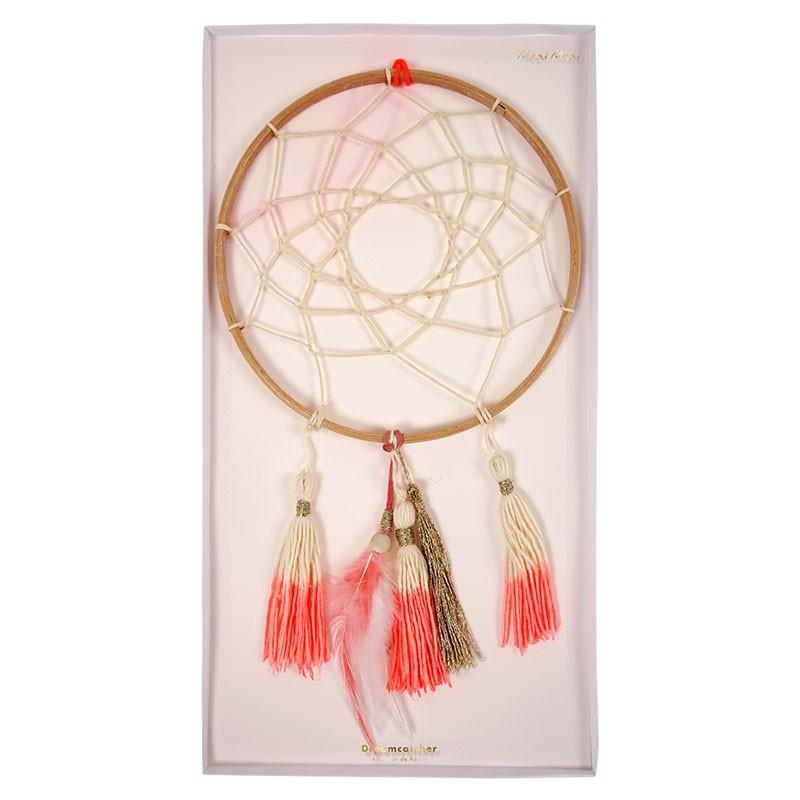 HANGING DECOR - DREAMCATCHER CORAL MERI MERI, HANGING DECOR, MERI MERI - Bon + Co. Party Studio