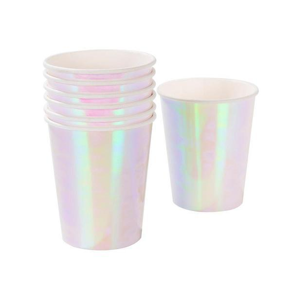 CUPS - MERI MERI IRIDESCENT, CUPS, MERI MERI - Bon + Co. Party Studio