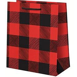GIFT BAGS - PREMIUM BUFFALO PLAID, GIFT GIVING, WASTE NOT PAPER - Bon + Co. Party Studio