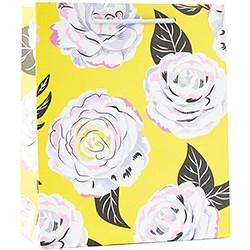 GIFT GIVING - BAGS PREMIUM FLORAL YELLOW
