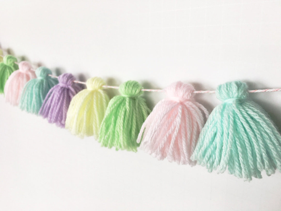 EYECANDY TASSEL GARLAND, Tassel Garland, BON + CO - Bon + Co. Party Studio