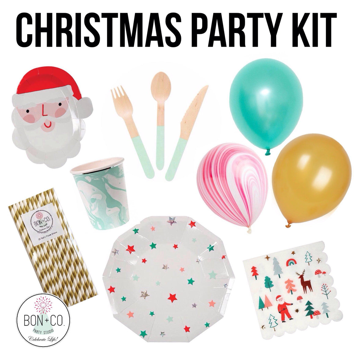 PARTY KIT - CHRISTMAS