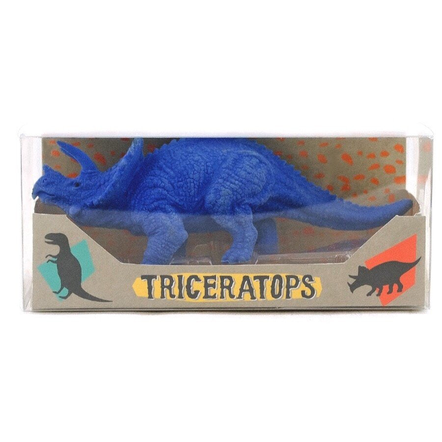 STATIONERY - ERASERS GIANT DINOSAUR TRICERATOPS