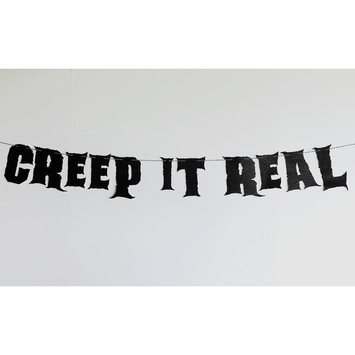 WORD MIX GARLAND - CREEP IT REAL