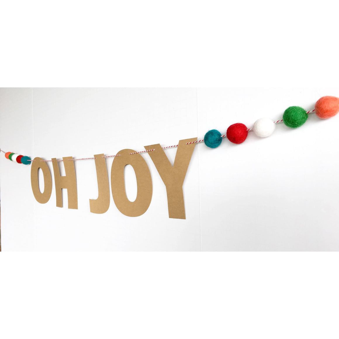 WORD MIX GARLAND - OH JOY POM