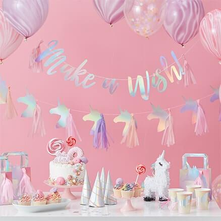 TASSEL GARLAND - TASSELS AND UNICORNS, Buntings, GINGER RAY - Bon + Co. Party Studio