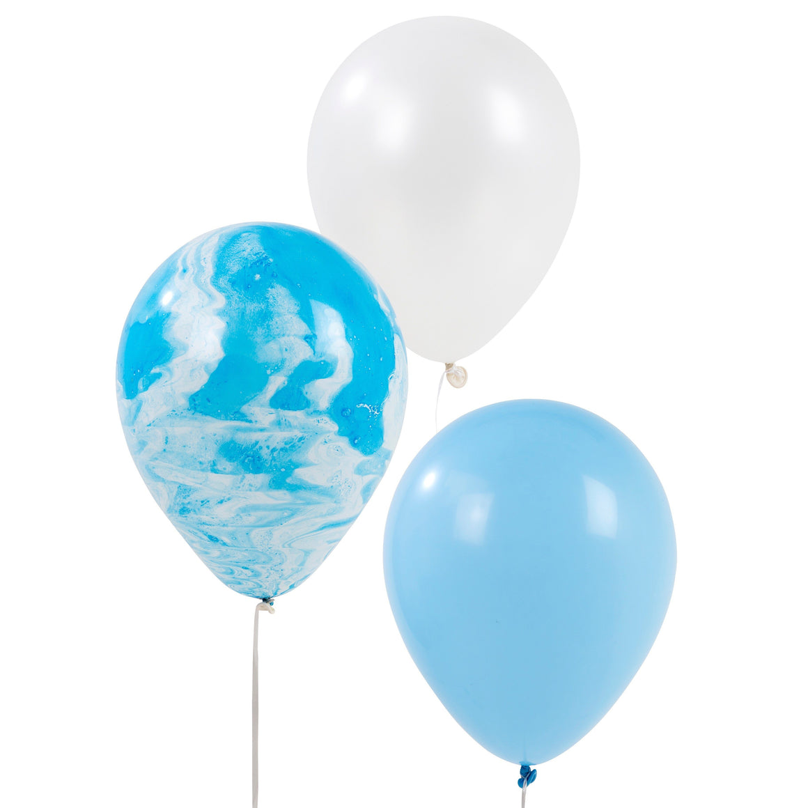 BALLOONS - MARBLE KIT BLUE, Balloons, TALKING TABLES - Bon + Co. Party Studio