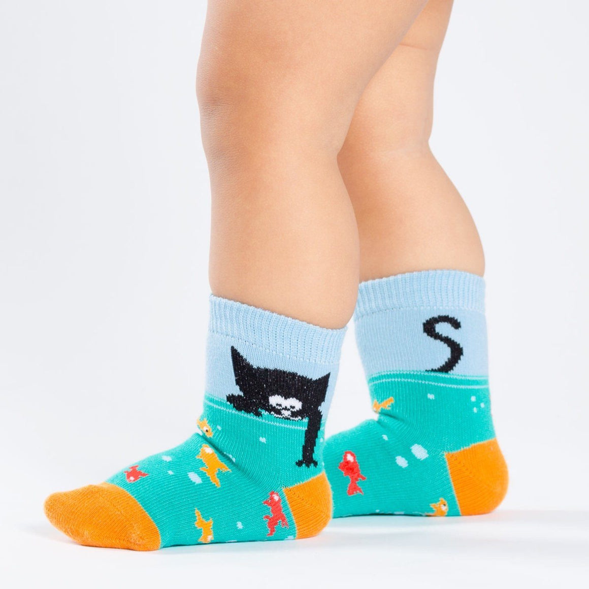 SOCKS - TODDLER CREW GONE FISHING, SOCKS, SOCK IT TO ME - Bon + Co. Party Studio