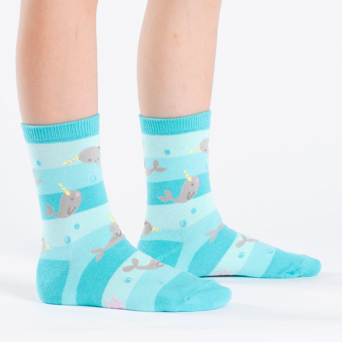 SOCKS - YOUTH CREW UNICORN OF THE SEA, SOCKS, SOCK IT TO ME - Bon + Co. Party Studio