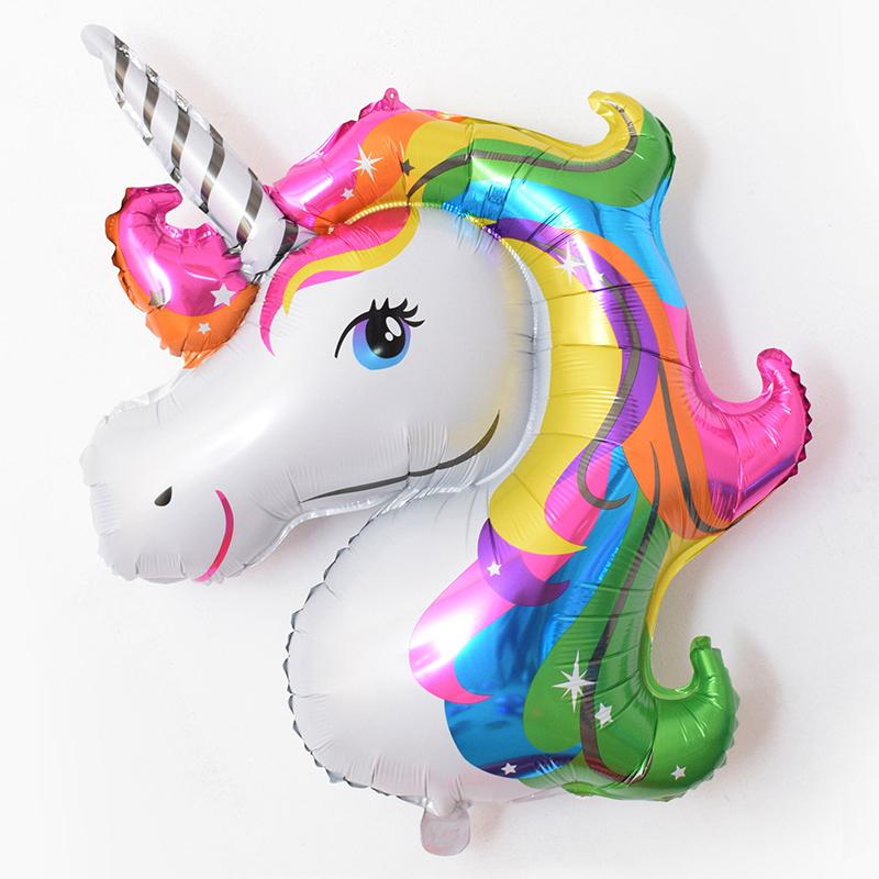 BALLOONS - UNICORN 2c HEAD BRIGHT, Balloons, Anagram - Bon + Co. Party Studio
