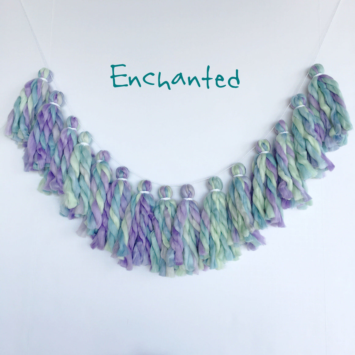 TASSEL GARLAND - YARN CHUNKY ENCHANTED