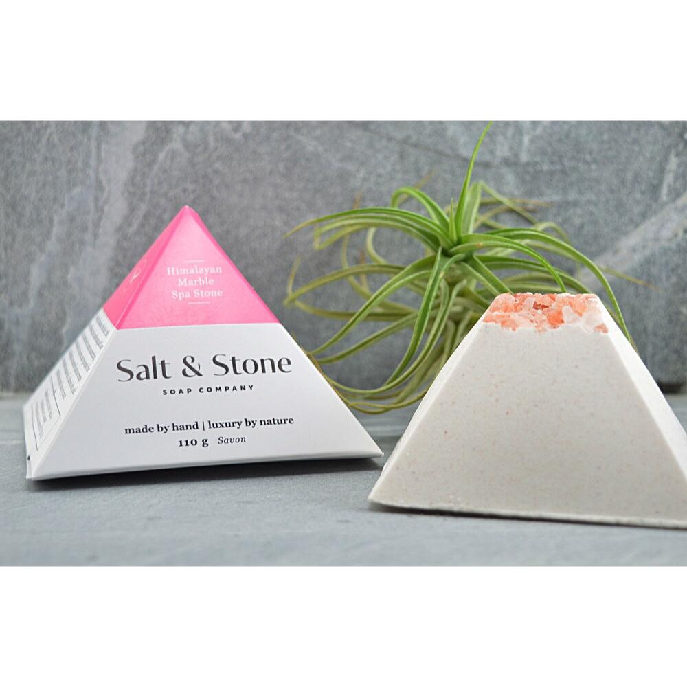 SOAP SPA STONE -  HIMALAYAN PINK MARBLE UNSCENTED, BATH, Salt and Stone - Bon + Co. Party Studio