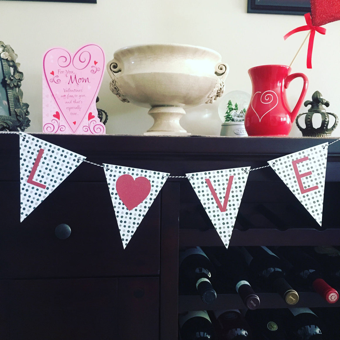 LOVE MINI GARLAND, Word Mix Garlands, BON + CO - Bon + Co. Party Studio