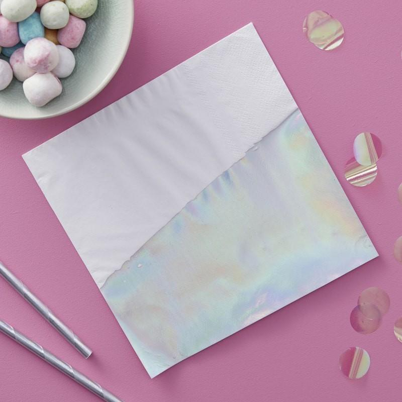 NAPKINS - LARGE IRIDESCENT DIP