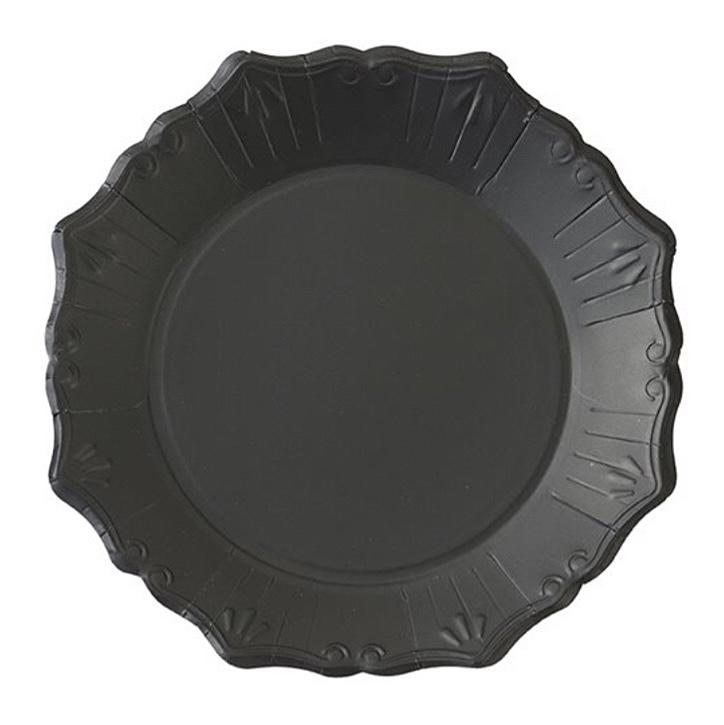 PLATES - LARGE PARTY PORCELAIN TRIO