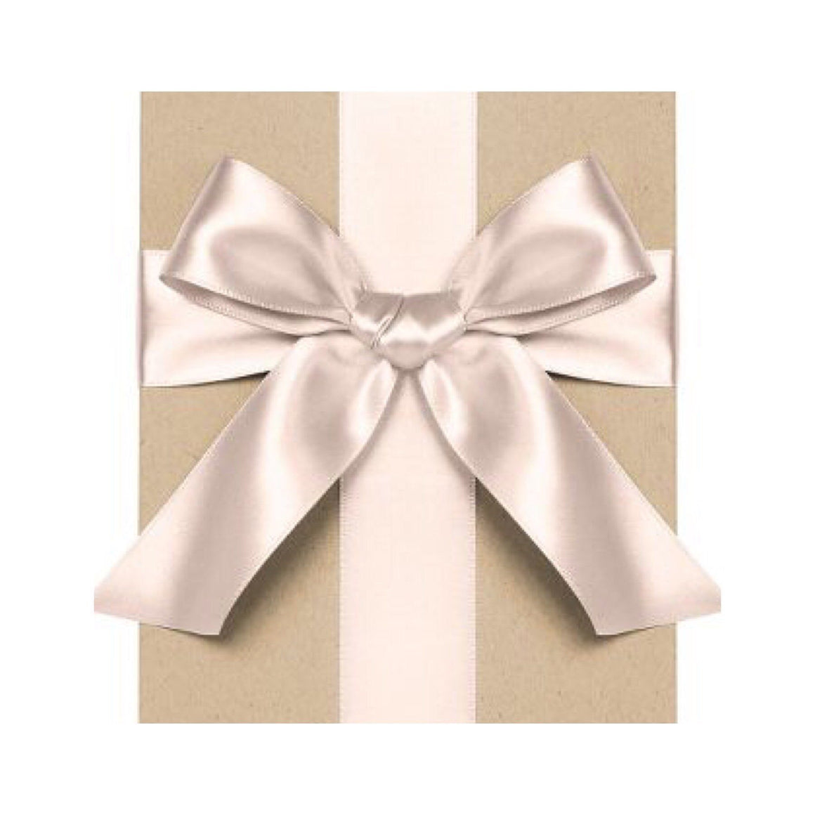 "GIFT GIVING - RIBBON 1/4"" BLUSH, RIBBON, WASTE NOT PAPER - Bon + Co. Party Studio"