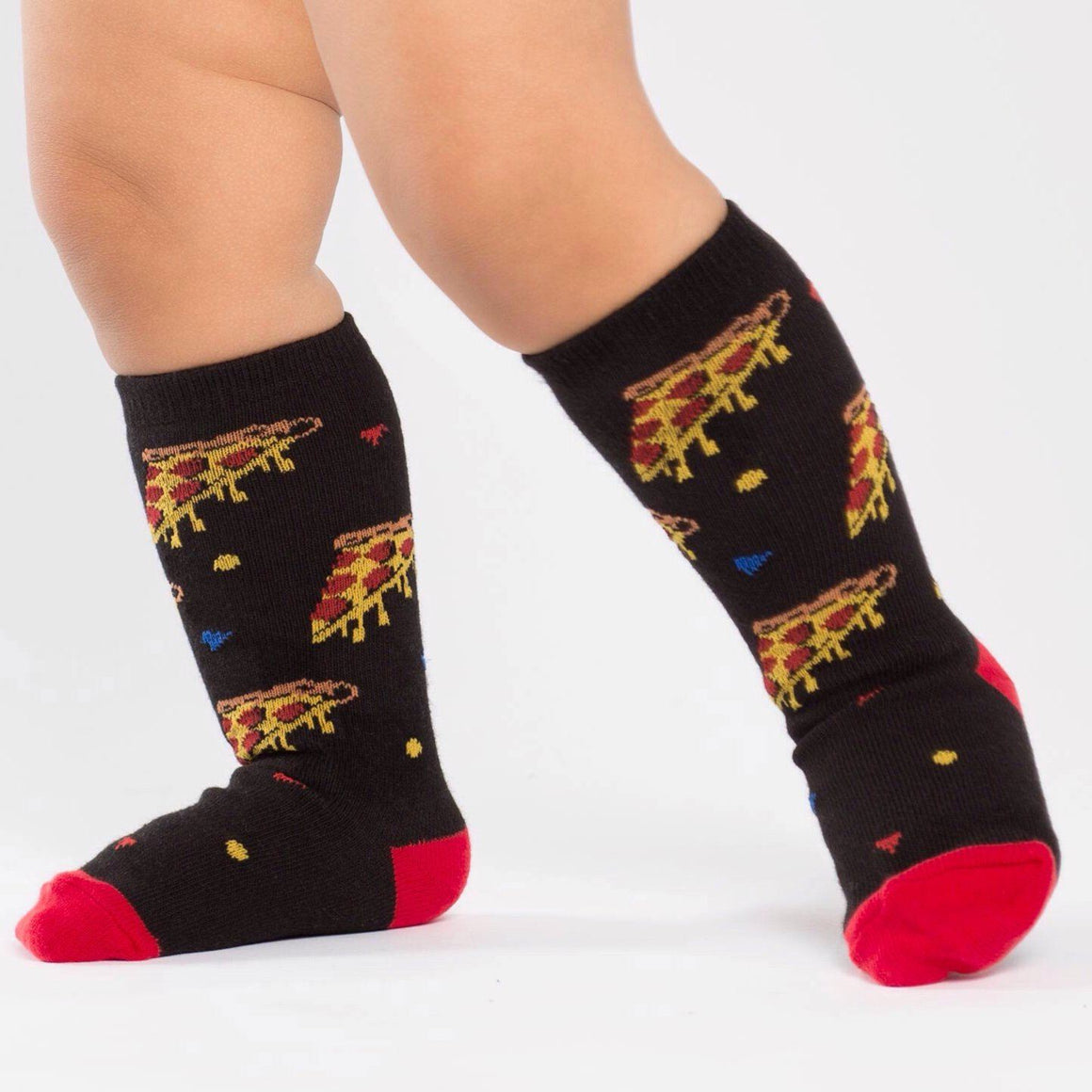 SOCKS - TODDLER KNEE PIZZA PARTY