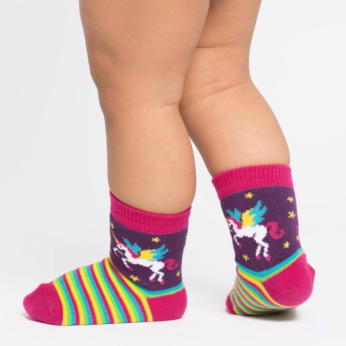 SOCKS - TODDLER CREW WINGING IT