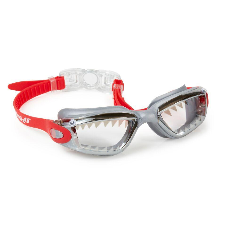 BLING2o GOGGLES - JAWSOME SHARK RED, Swim goggles, Bling2o - Bon + Co. Party Studio