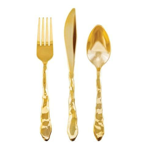 PREMIUM CUTLERY SET - ROCK GOLD