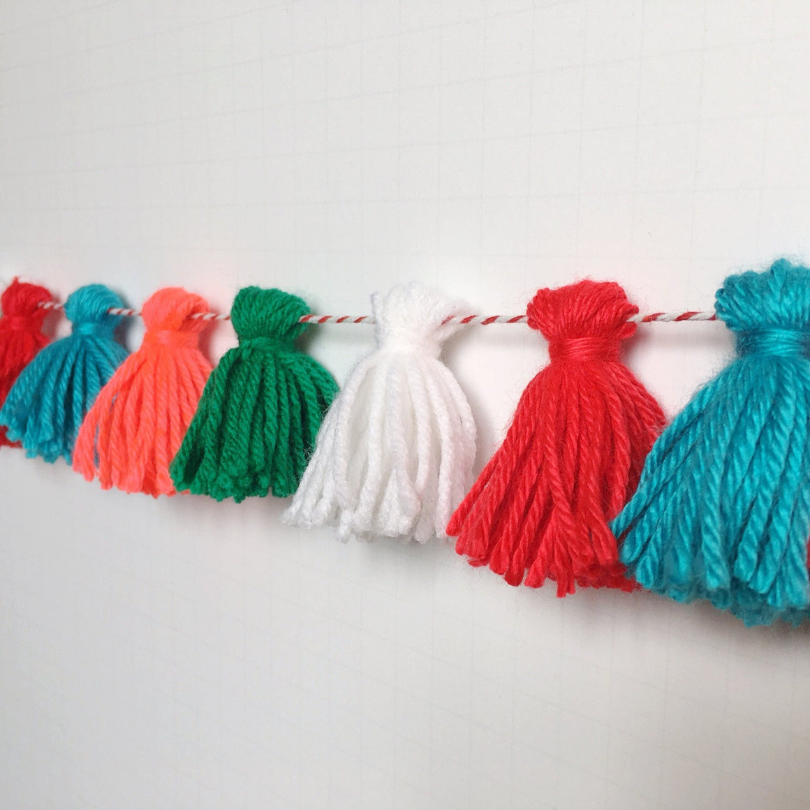 MERRY + BRIGHT TASSEL GARLAND, Tassel Garland, BON + CO - Bon + Co. Party Studio