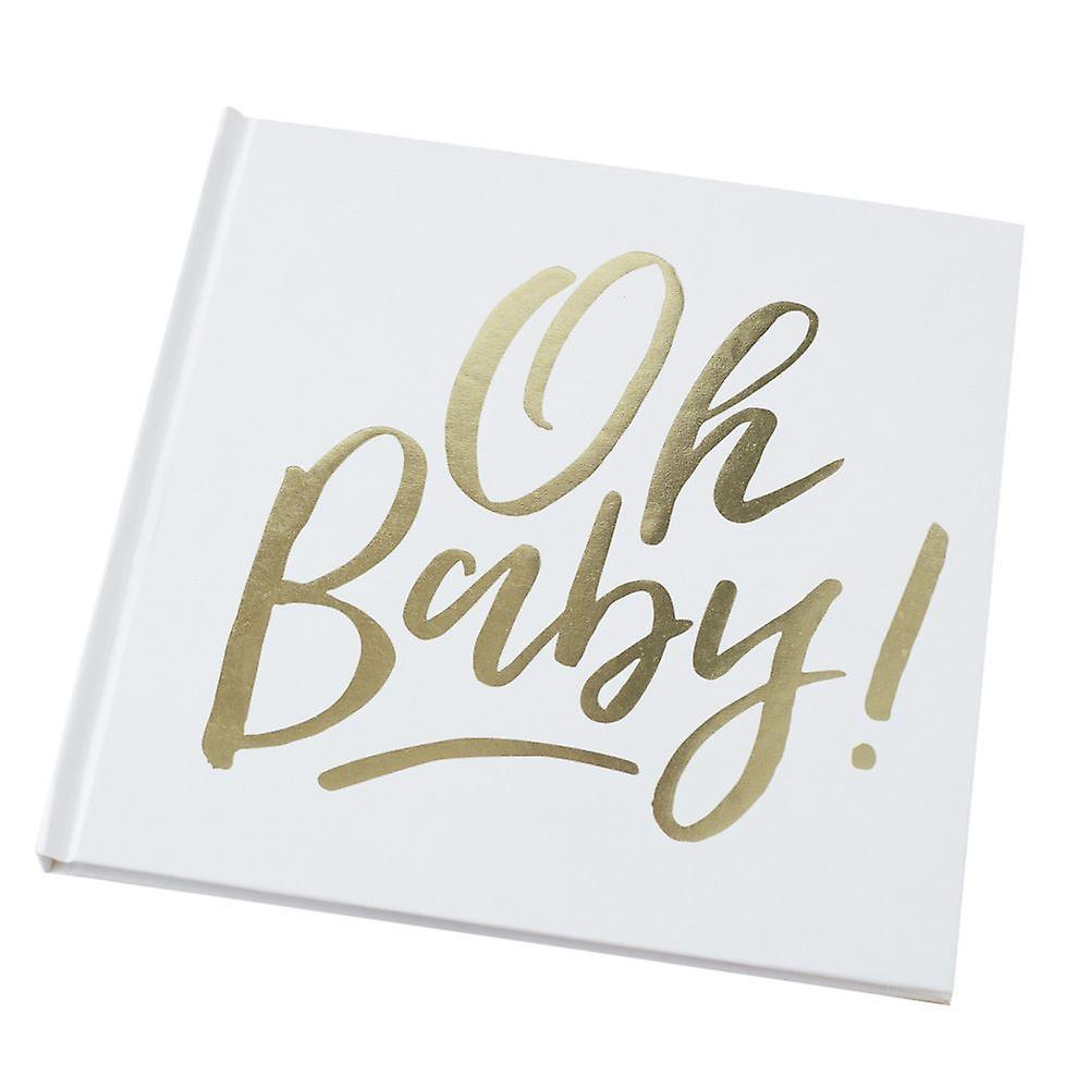 GUEST BOOK - OH BABY!, EXTRAS, GINGER RAY - Bon + Co. Party Studio