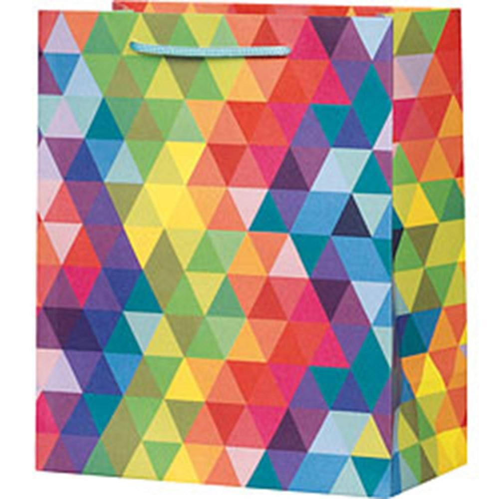 GIFT BAGS - PREMIUM RAINBOW PRISM, GIFT GIVING, WASTE NOT PAPER - Bon + Co. Party Studio