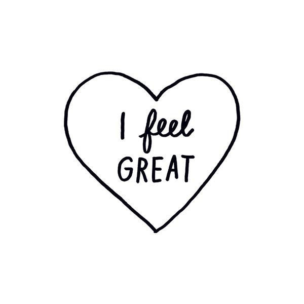 TATTOOS - TATTLY I FEEL GREAT