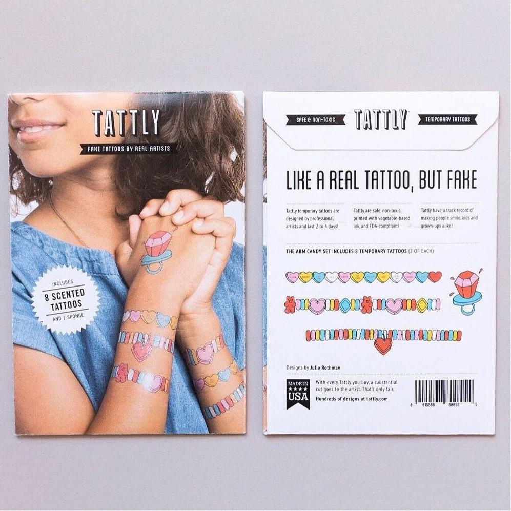 TATTOOS - TATTLY ARM CANDY SCENTED, Tattoos, Tattly - Bon + Co. Party Studio