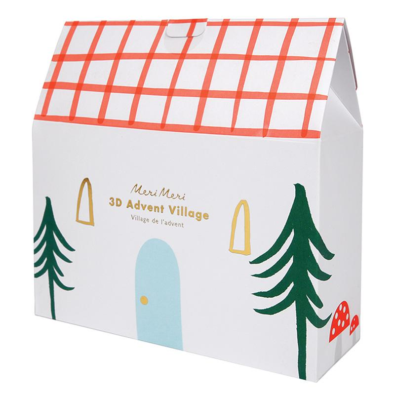 ADVENT CALENDAR - BUILD YOUR OWN VILLAGE, FAVOURS, MERI MERI - Bon + Co. Party Studio