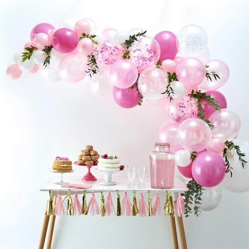 BALLOON ARCH - PINK GINGER RAY **Expected Early October**, Balloons, GINGER RAY - Bon + Co. Party Studio