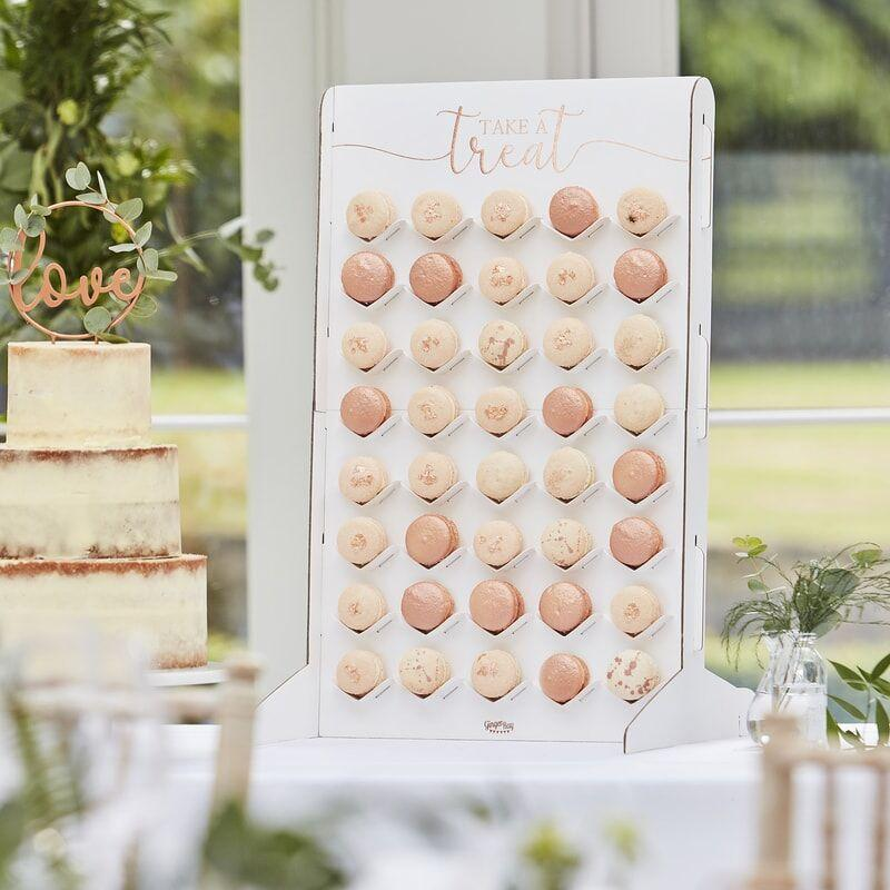 TREAT STAND - MACARON WALL, TREAT STAND, GINGER RAY - Bon + Co. Party Studio
