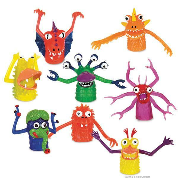 FAVOURS - FINGER PUPPET MONSTERS, FAVOURS, ACCOUTREMENTS / ARCHIE MCPHEE - Bon + Co. Party Studio
