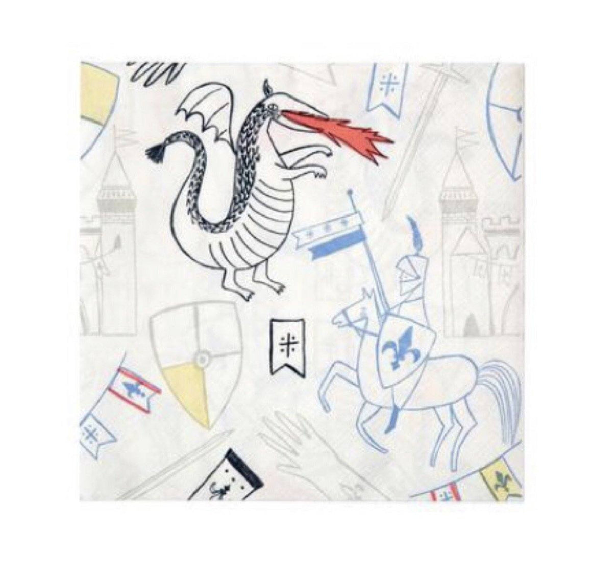 NAPKINS - LARGE DRAGON KNIGHTS