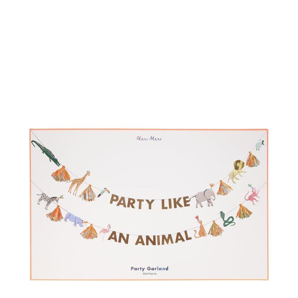 GARLAND - PARTY LIKE AN ANIMAL LARGE
