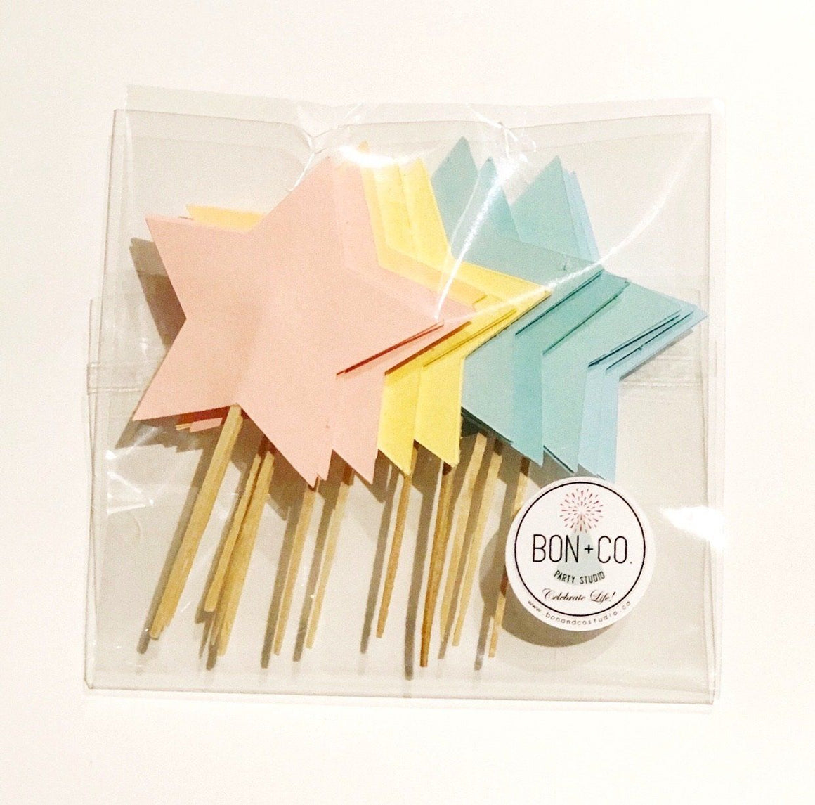 PARTY PICKS - PASTEL STARS
