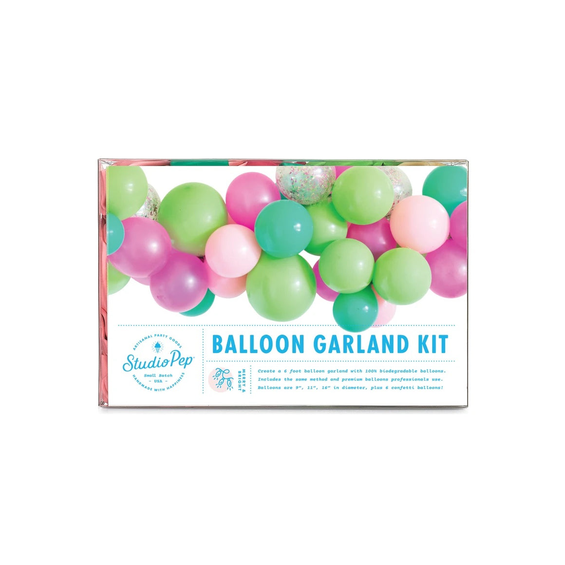 BALLOON GARLAND - MERRY + BRIGHT STUDIO PEP