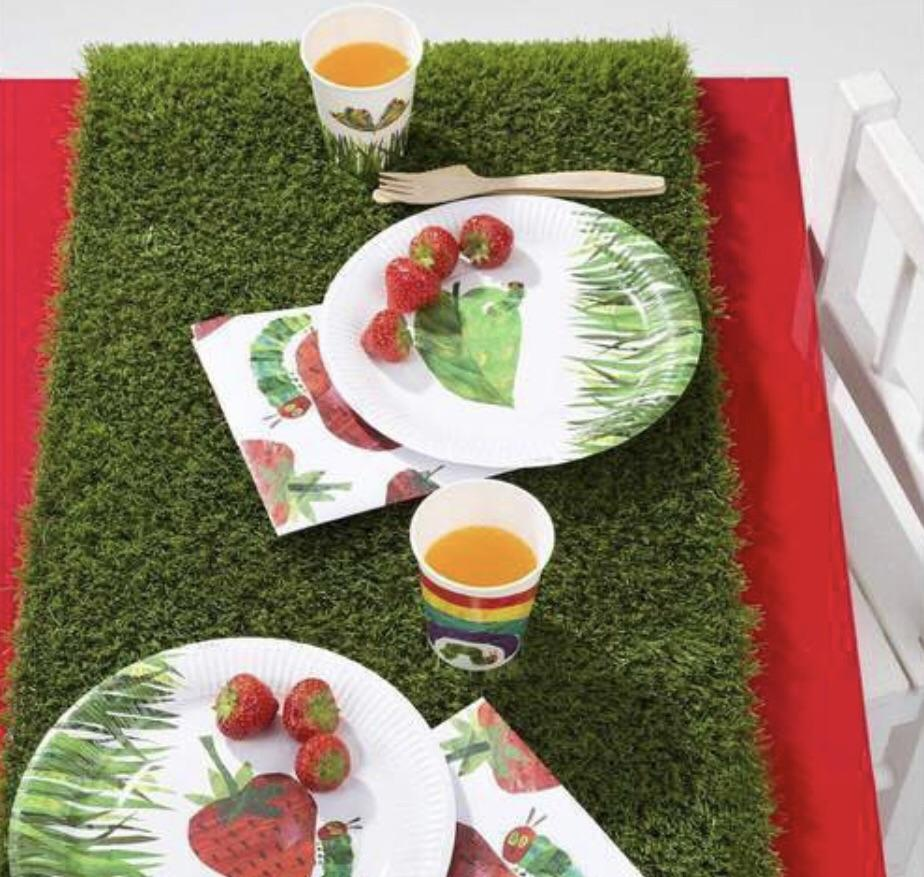 TABLERUNNER - GRASS, tablecovers, TALKING TABLES - Bon + Co. Party Studio
