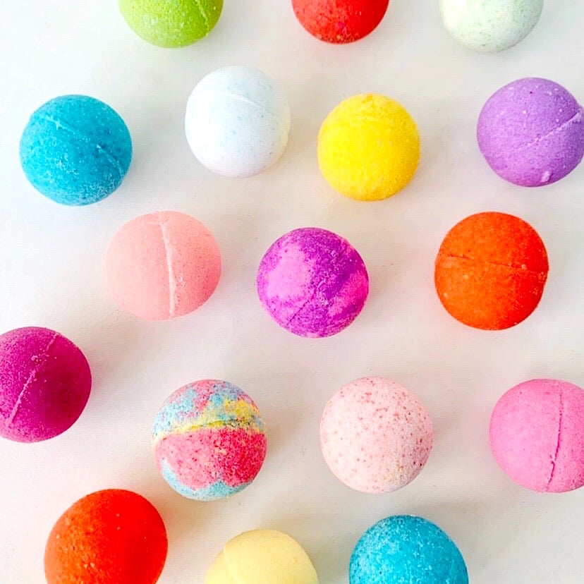 ARTISAN BATH BOMBS BAG - PARTY MIX