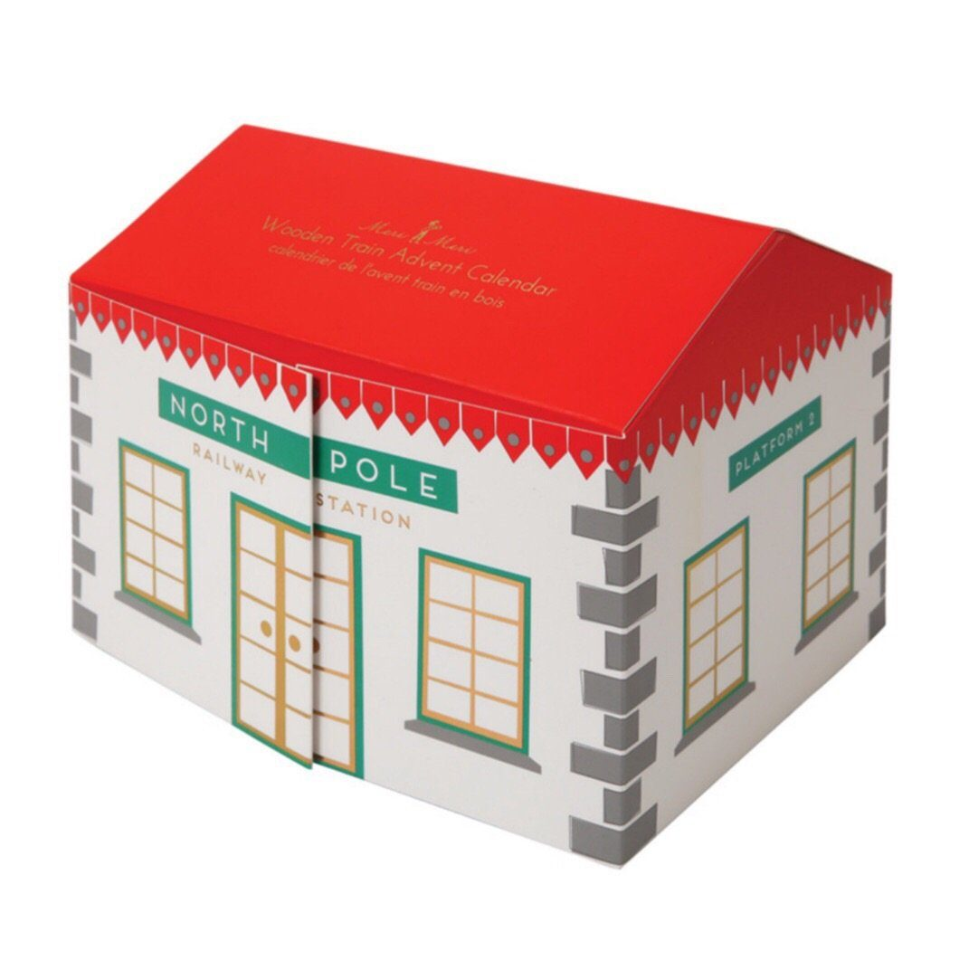 GIFTS - ADVENT CALENDAR RAILWAY TRAIN STATION
