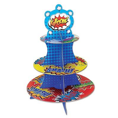 TREAT STAND - SUPER HERO, TREAT STAND, SKS - Beistle Co - Bon + Co. Party Studio
