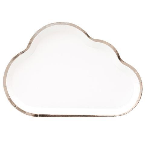 PLATES - CLOUD OH HAPPY DAY