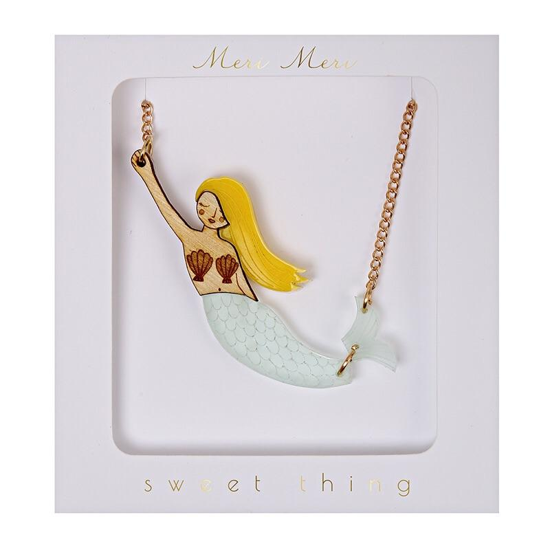 ACCESSORIES - JEWELRY MERMAID NECKLACE, ACCESSORIES, MERI MERI - Bon + Co. Party Studio