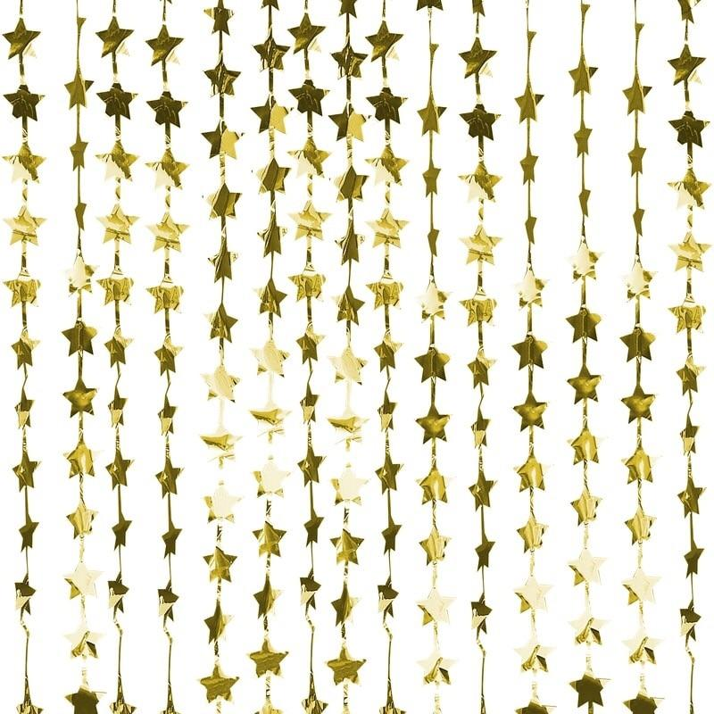 BACKDROP - STAR GOLD FOIL (expected end of August), Backdrops, GINGER RAY - Bon + Co. Party Studio