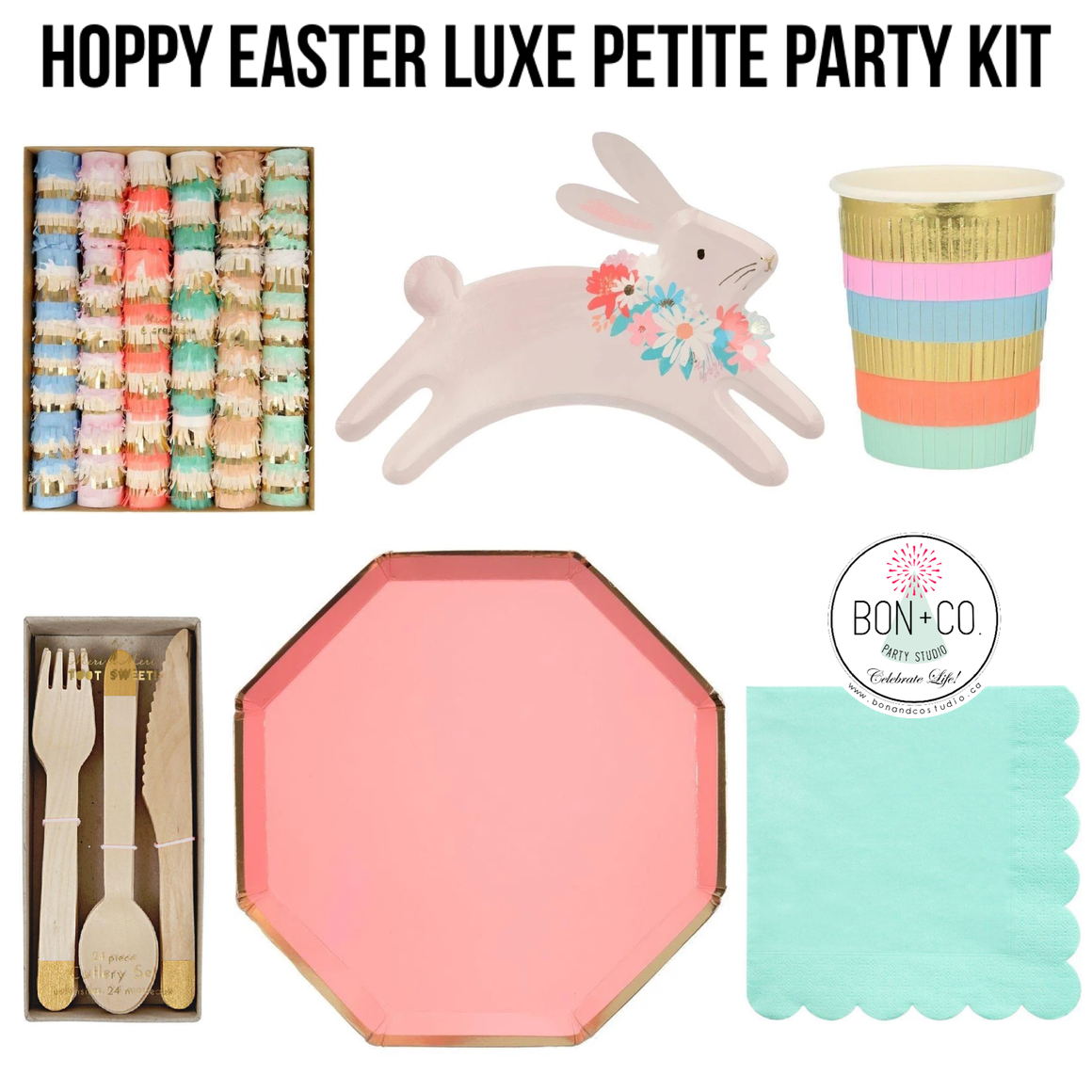 LUXE PETITE PARTY KIT - HOPPY EASTER