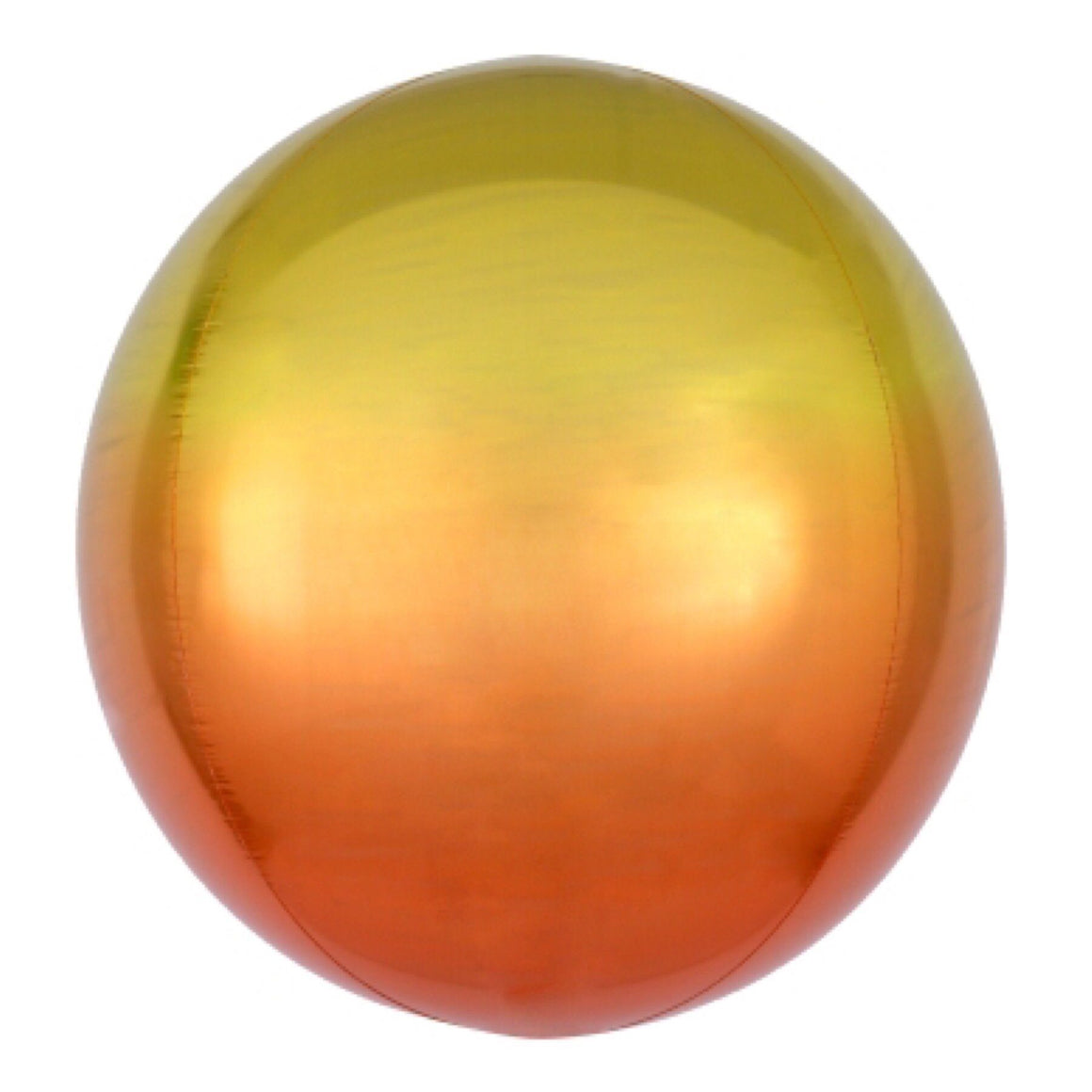 "BALLOON BAR - 16"" ORBZ ROUND OMBRE YELLOW ORANGE, Balloons, Anagram - Bon + Co. Party Studio"