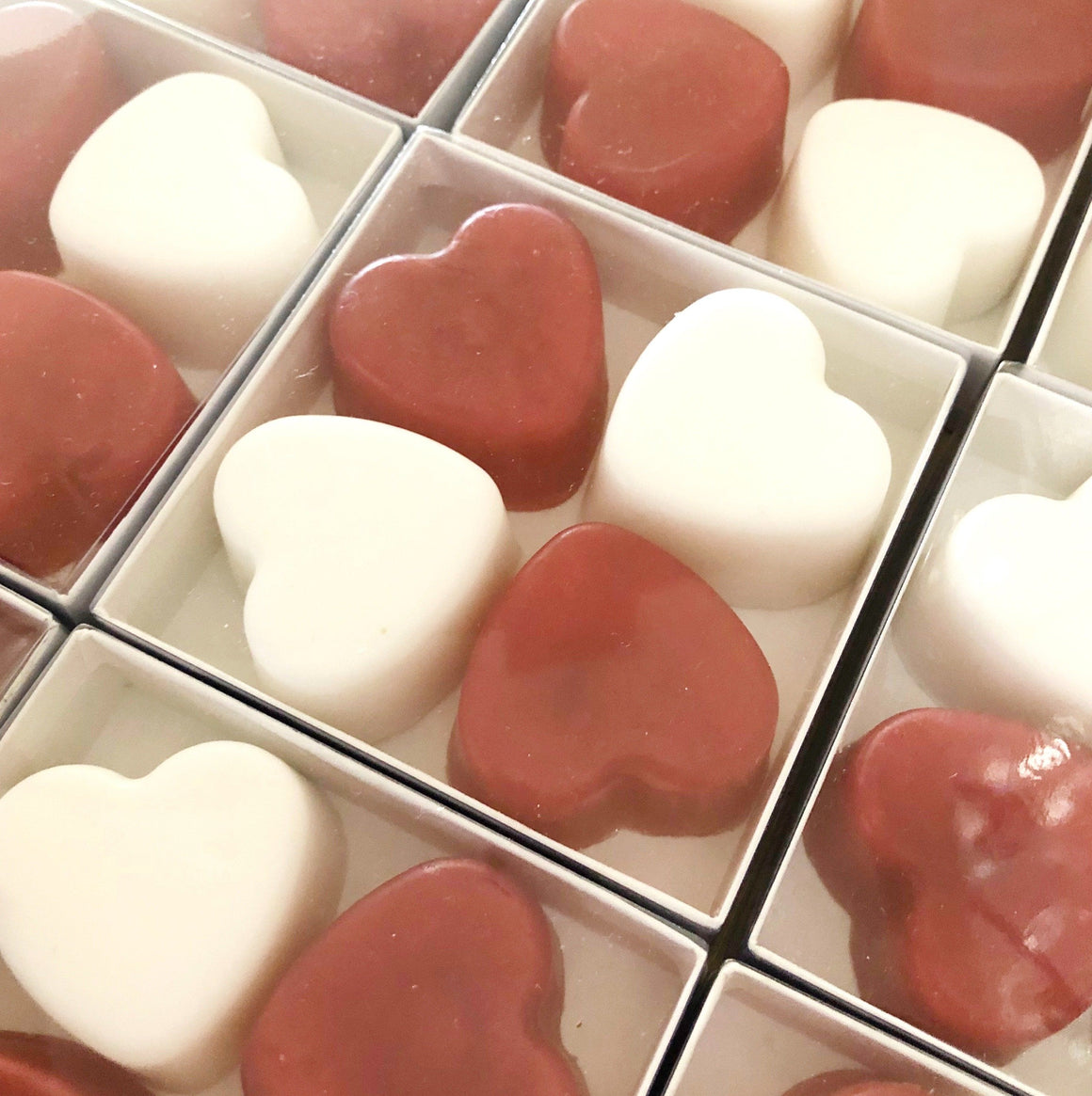 GRAB+GO GIFTS - BOX OF HEART SOAPS, LOOT BAGS, Bon + Co. Party Studio - Bon + Co. Party Studio