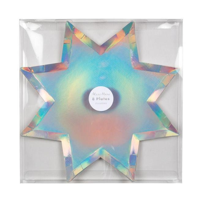 PLATES - LARGE EIGHT POINT STAR
