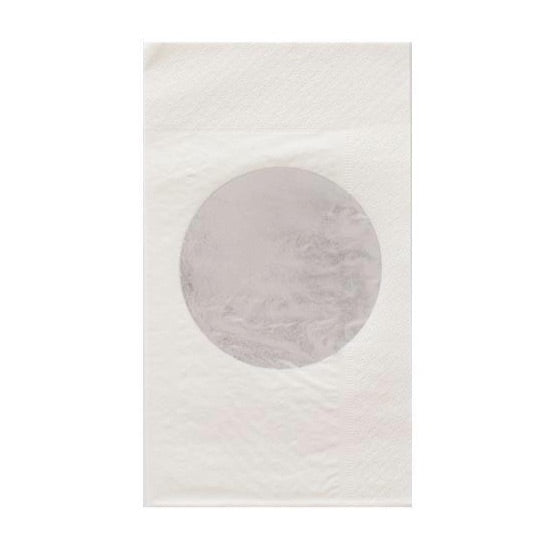 NAPKINS - DINNER SILVER DOT OH HAPPY DAY, NAPKINS, Oh happy day - Bon + Co. Party Studio